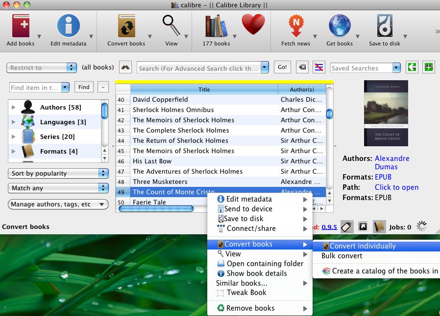 how to convert pdf ebooks to epub format